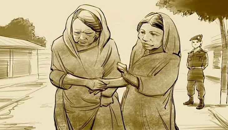 খালেদার কারা জীবন