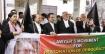 খালেদা জিয়ার মুক্তির দাবিতে সুপ্রিম কোর্টে মানববন্ধন