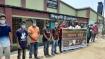 ফিলিস্তিনে ইসরায়েলি হামলার প্রতিবাদে ঈশ্বরদীতে মানববন্ধন
