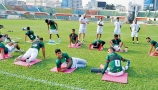 বাংলাদেশ ফুটবল দলের অনুশীলন