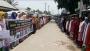 প্রধান শিক্ষককে কোপ দিয়ে আঙুল কর্তন, প্রতিবাদে মানববন্ধন