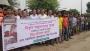 গোপালগঞ্জে আ. লীগ নেতার ওপর হামলার প্রতিবাদে মানববন্ধন