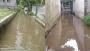 মুন্সীগঞ্জে রাস্তায় জলাবদ্ধতা, দুর্ভোগে পথচারী