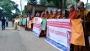বৌদ্ধভিক্ষু অমৃতানন্দ হত্যার প্রতিবাদে রাঙ্গামাটিতে মানববন্ধন