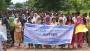 পাবিপ্রবিতে বিভাগ রূপান্তরের দাবিতে মানববন্ধন