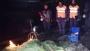 চাঁদপুরে ৪০ হাজার মিটার কারেন্ট জাল জব্দ