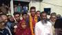 অনূর্ধ্ব-১৯ বিশ্বকাপ জয়ী শরিফুলকে বরণ