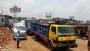 দৌলতদিয়ায় ফেরী পারাপারের অপেক্ষায় কয়েকশত যানবাহন