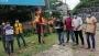 বেরোবি কর্মচারী খোরশেদের কুশপুত্তলিকা দাহ