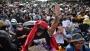 থাইল্যান্ডে জরুরি অবস্থা ভেঙে রাজপথে হাজারো জনতা