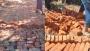 বান্দরবানে সড়ক নির্মাণে নিম্নমানের সামগ্রী ব্যবহারের অভিযোগ