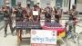 ফুলবাড়ী সীমান্তে ভারতীয় মাদকসহ যুবক আটক